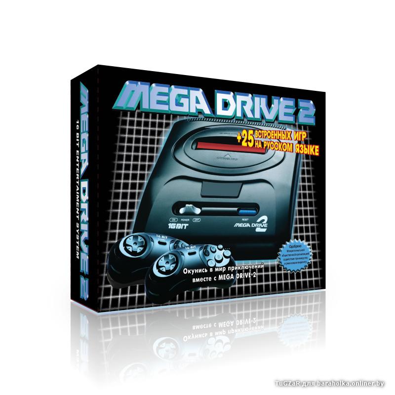 sega25.jpg | Мega Drive 2 + 25 игр (SEGA MEGA