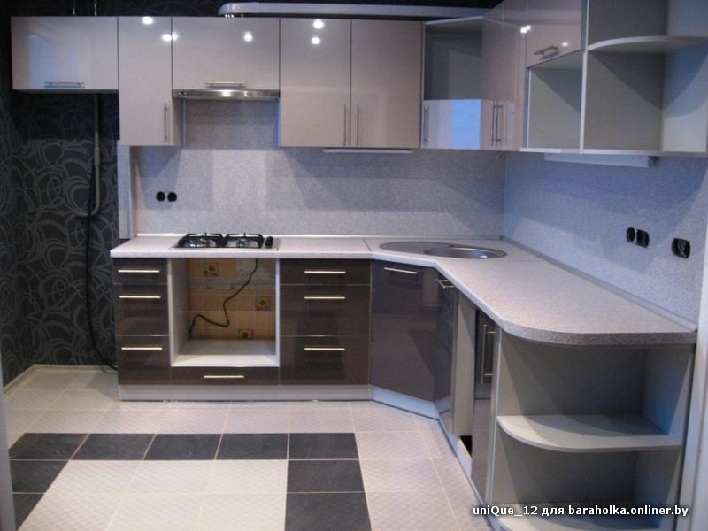 Кухня с мойкой в углу дизайн