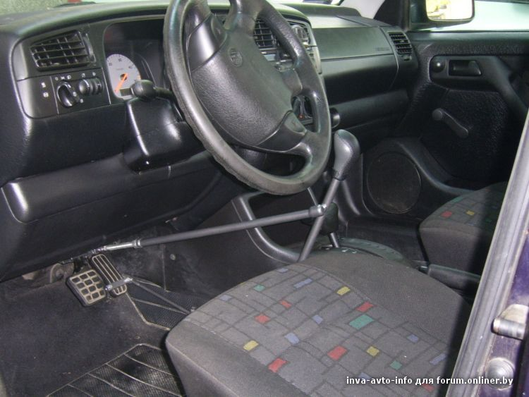 Ручное управление автомобилем для инвалидов своими руками