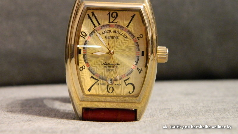 Franck Muller - часы наручные Фото и отзывы