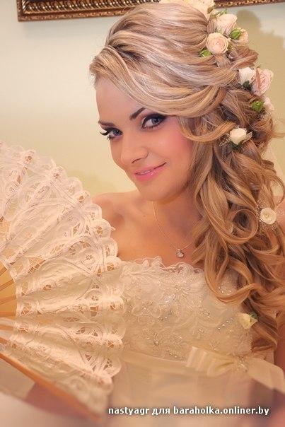 Макияж и прическа невест, фото