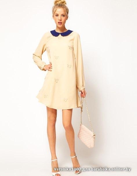Модный воротник для платья