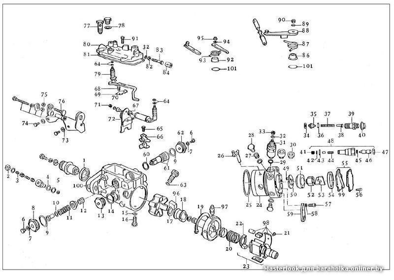diesel fuel injection pump diagrams