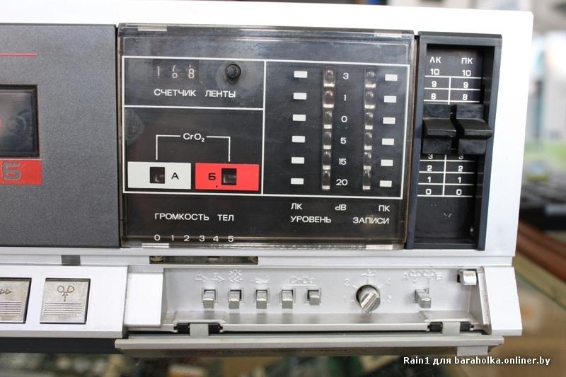 магнитофон нота мп220с схема