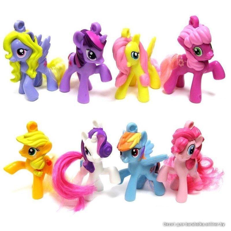 Маленькая пони игрушки