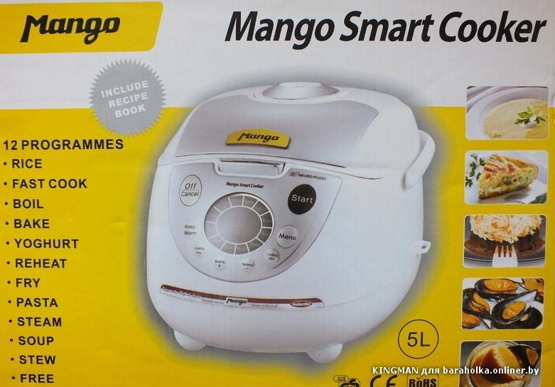 Инструкцию Mango Smart Cooker