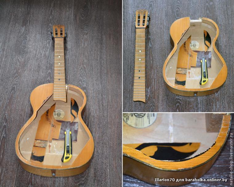 Как сделать простую гитару
