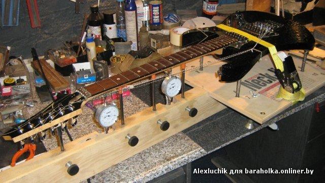 Ремонт акустических гитар своими руками фото