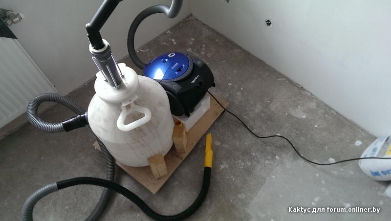 Как из бытового пылесоса сделать строительный пылесос