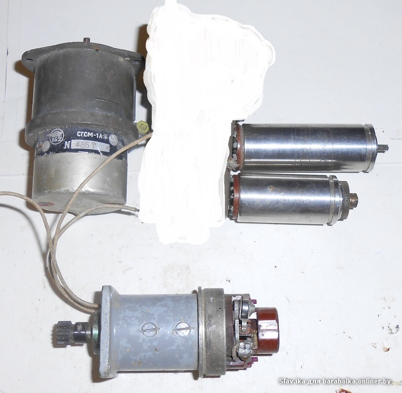 Эл.двигатели набор 5 шт.