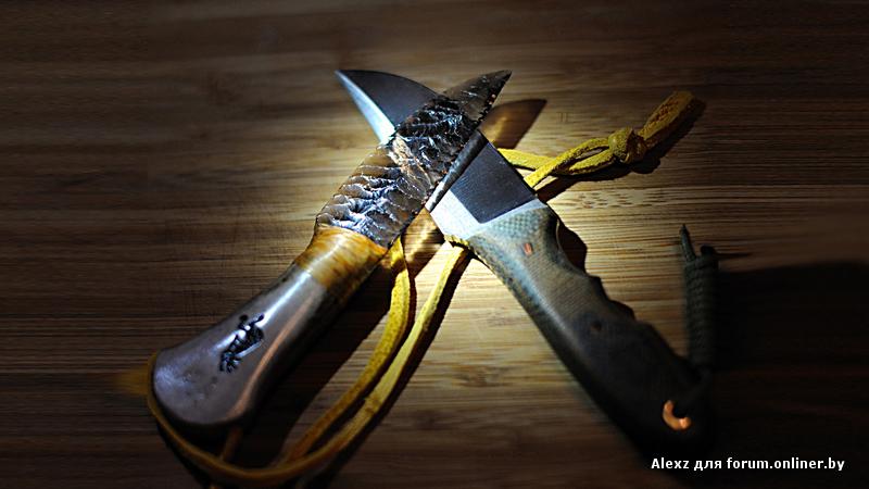 Нож из стекла своими руками