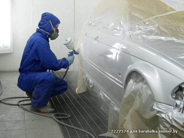 Покраска автомобиля своими руками и ремонт