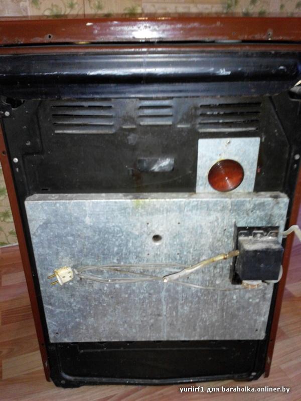 Плита инструкция газовая 1457 брест духовка