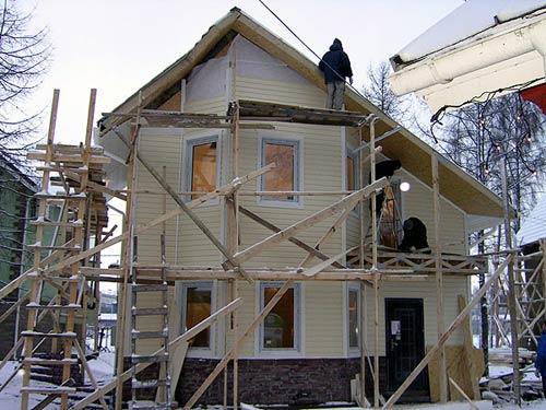 обшивка домов сайдингом фото - Нужные схемы и описания для всех.