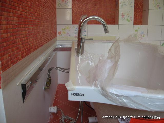 Когда ванная на кухне как сделать
