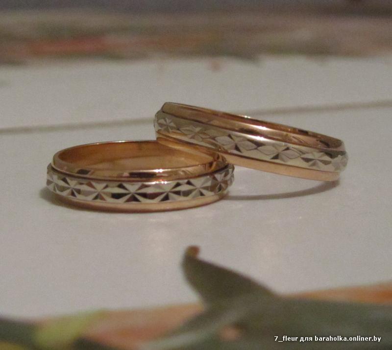 обручальные кольца спб парные золото фото
