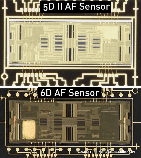 Схема 6D. автофокус у 6D полное у.г. да же хуже 60D/650D, в маркетинговых целях он урезан до нельзя, про автофокус на...
