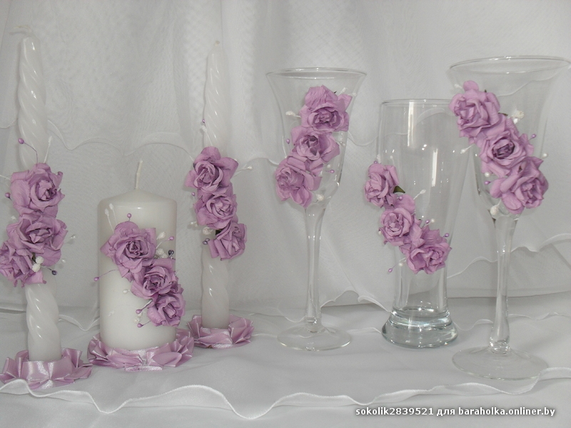 Свечи бокалы торт картинки