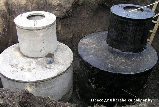 Как установить кольца для канализации своими руками