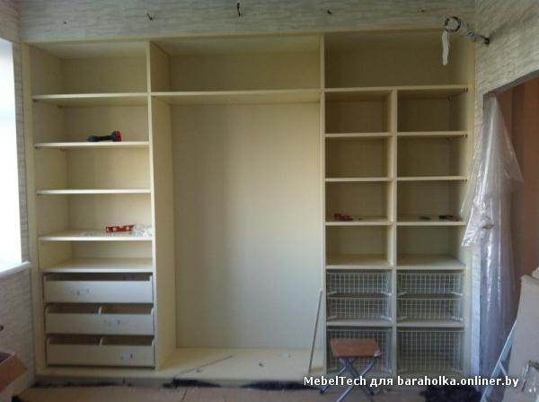 Монтаж встроенных шкафов своими руками