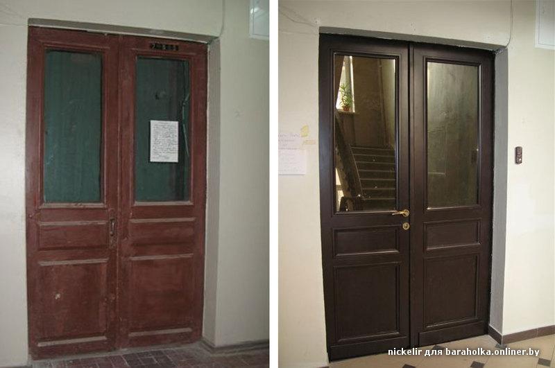 Как перекрасить двери
