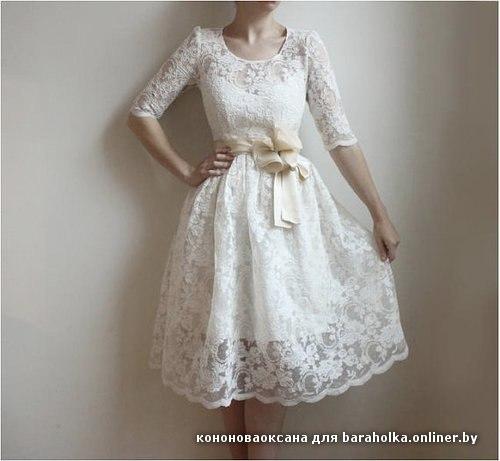 Платье своими руками на выпускной