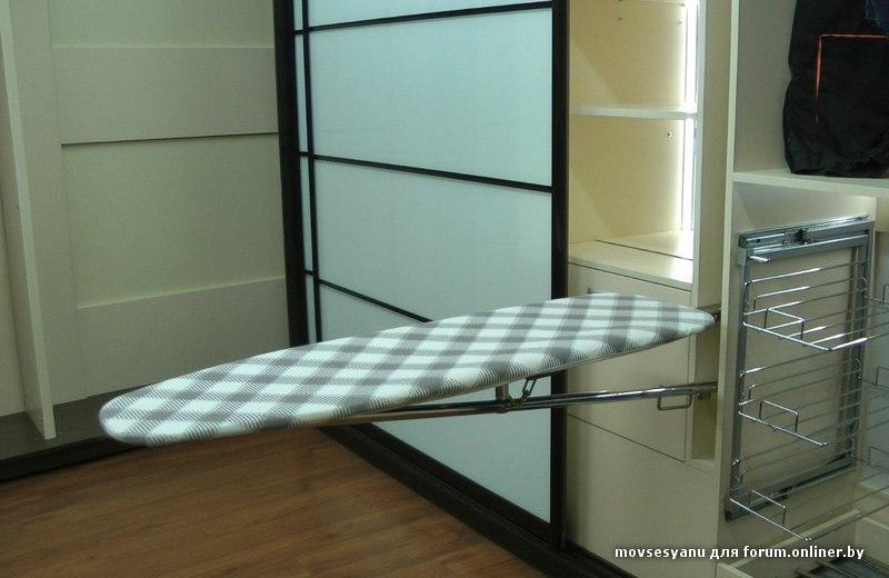 Гладильная доска шкаф своими руками - Mmrr.ru