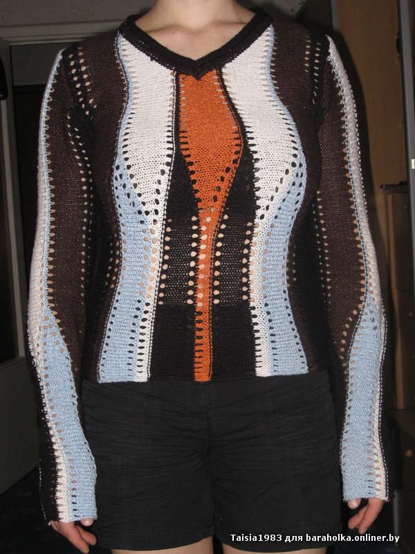 вязаный женский свитер есть в