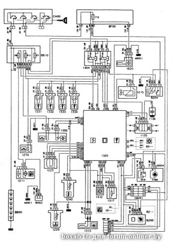 Ремонт и обслуживание/ Citroen Xantia 1993-1998 16.5 Системы впрыска и зажигания - двигатель XU5/XU7, MAGNETI MARELLI.