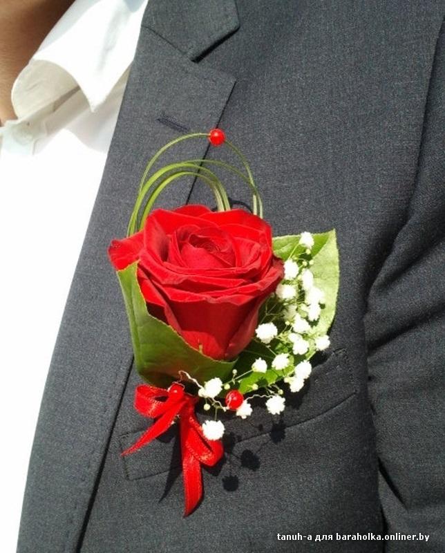 Бутоньерки для жениха своими руками фото