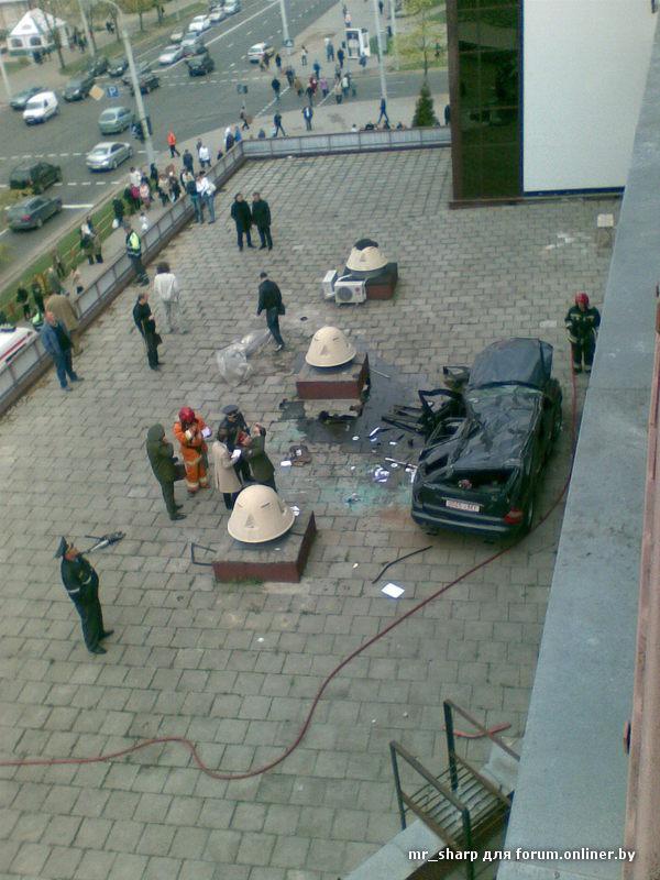 Как не надо парковаться (Минск)