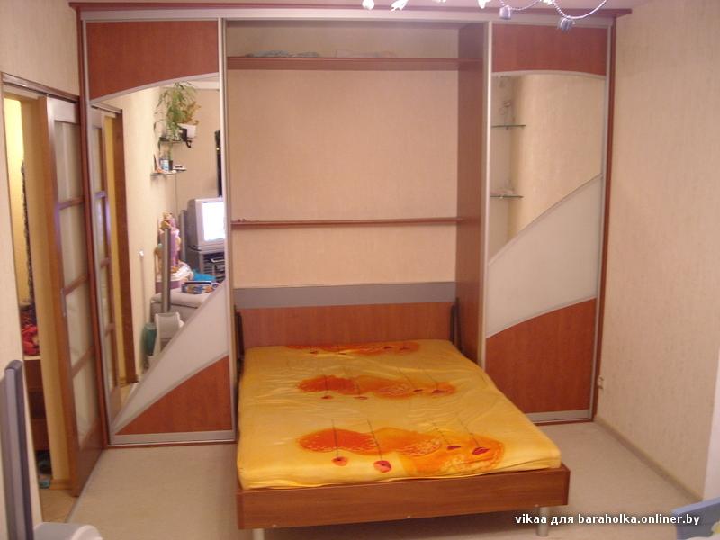 кровать трансформер встроенная
