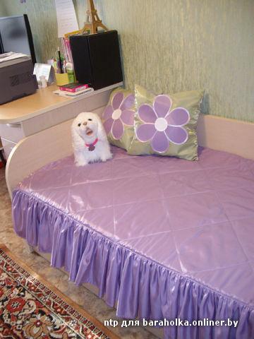 Покрывала на подростковую кровать своими руками