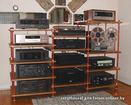 Полки для радиоаппаратуры своими руками