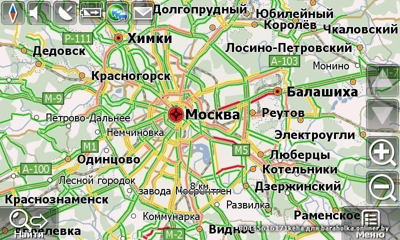 карту белоруссии для навител