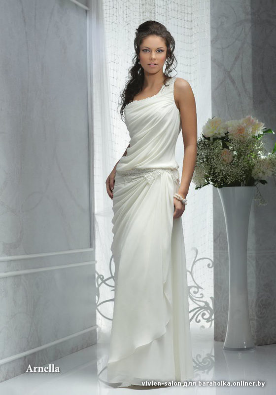 Свадебные платья в греческом стиле 2015
