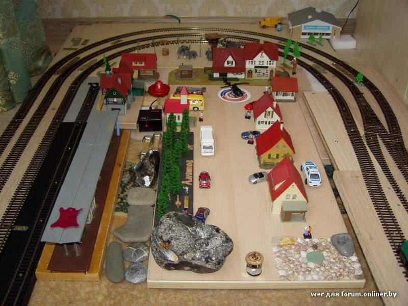 Из чего и как сделать макет железной дороги своими руками
