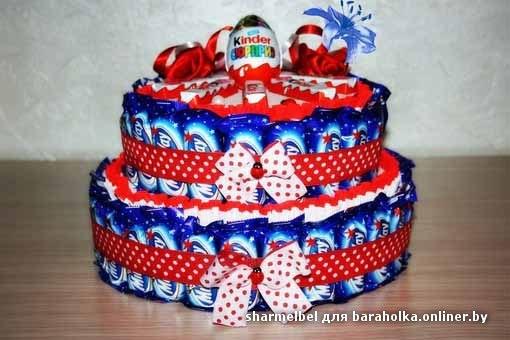 Торты из сладостей своими руками пошаговое фото