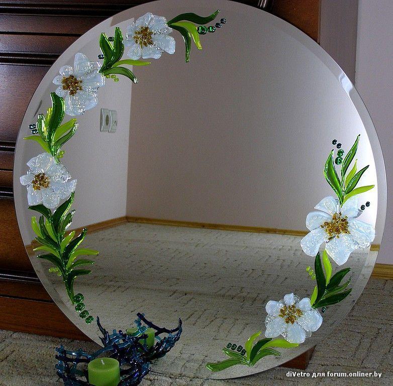 Декорирование стёкол своими руками