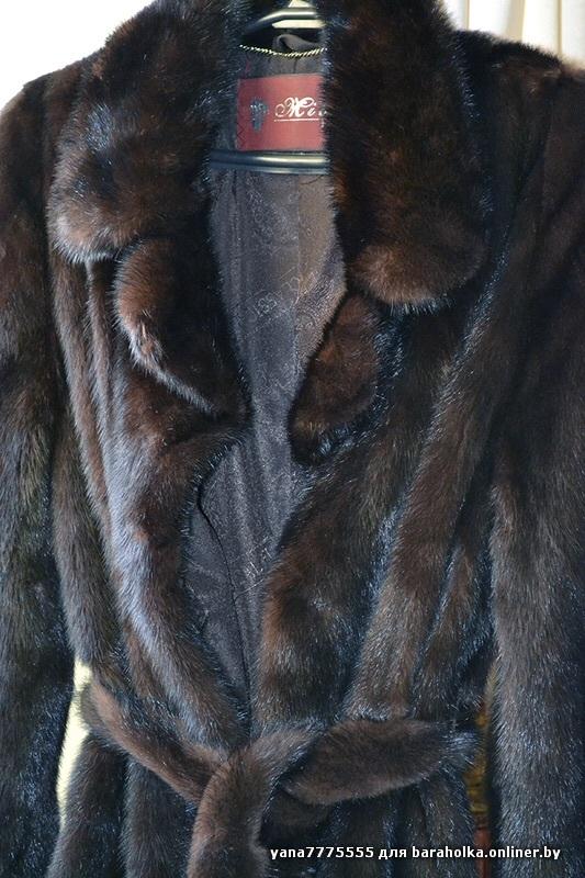 Продам НОВУЮ норковая шубу, из Греции,и модель 2014 г. Скроена из цельных шкурок в роспуск, размер 42-44