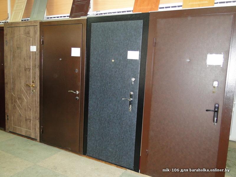 металлические двери собственного производства в железнодорожном