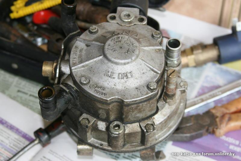 Как сделан газовый редуктор 25