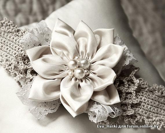 Цветок своими руками на платье