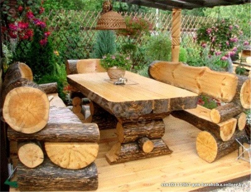 Своими руками из древесных материалов
