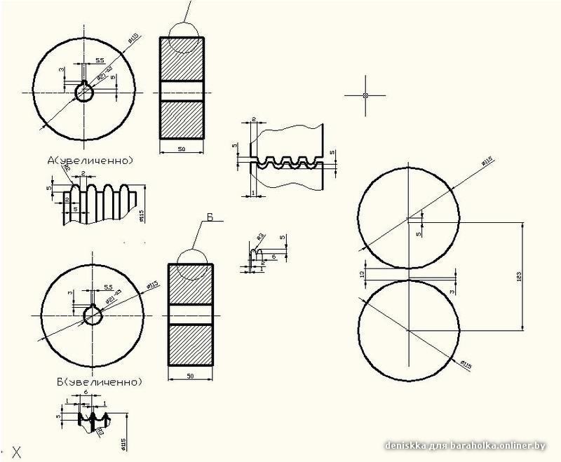Вальцы для холодной ковки чертежи профтруба