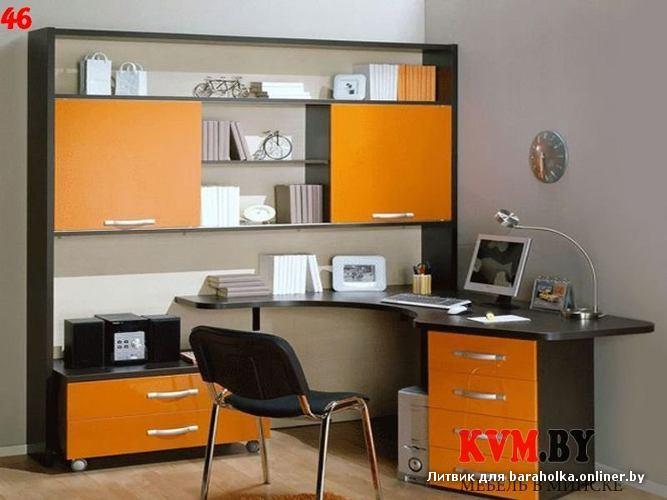 Компьютерные столы, тумбы, горки, детские, ванные комнаты, к.