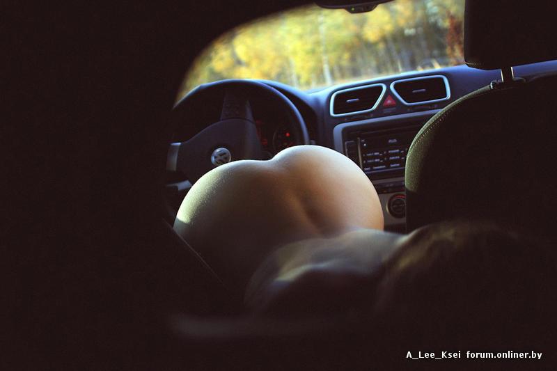красивый секс фото в машине