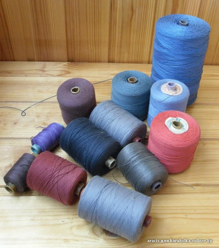Вязание нитками из капрона