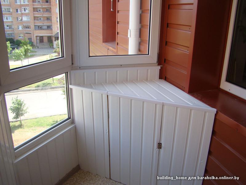 Откосы (пвх, мдф, сэндвичь панели) ремонт балконов, фото 1 м.
