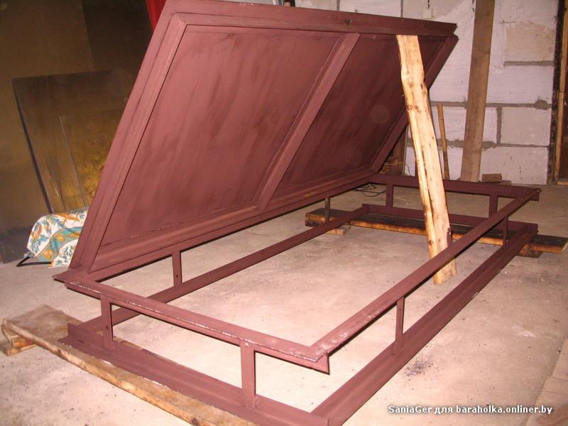 изготовления металлических дверей из уголка